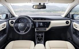 Toyota Corolla Altis 2017 sẽ về Việt Nam lần đầu lộ nội thất