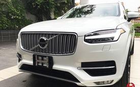 Cận cảnh SUV cao cấp Volvo XC90 2016 trắng muốt tại Hà Nội