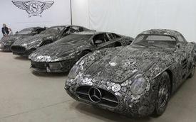 Nhóm nghệ sỹ biến sắt vụn thành siêu xe như thật