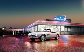 "Hồi sinh lại xế cổ BMW 507 của ""The King"" Elvis Presley"