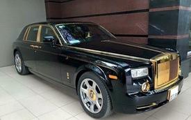 Cặp đôi Rolls-Royce Phantom mạ vàng ấn tượng nhất Việt Nam