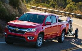 Triệu hồi một số xe Chevrolet Colorado dính lỗi tại Việt Nam