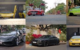 Điểm danh loạt siêu xe Sài Thành xuất hiện rực rỡ trong mùng 2 Tết