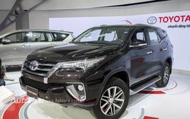 Toyota trưng bày 6 xe hot, Fortuner 2016 được quan tâm đặc biệt