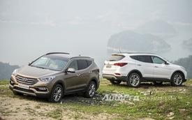 Đánh giá Hyundai Santa Fe 2016: Nâng cấp kịp thời
