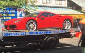 Nữ đại gia Sài Gòn tậu siêu xe Ferrari 488 GTB