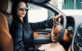 Hot girl Huyền Baby khoe Bentley Bentayga 21 tỷ Đồng của nhà chồng