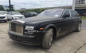 """Cận cảnh Rolls-Royce Phantom """"chạy thuế"""" về Việt Nam với thiết kế hai khoang riêng biệt"""