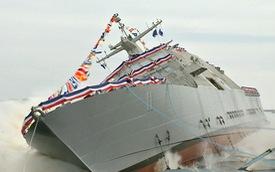 Chiêm ngưỡng tàu chiến mới hạ thủy của Hải quân Mỹ