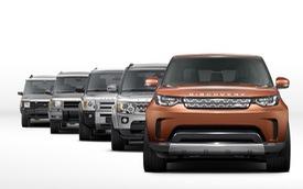 SUV cỡ lớn Land Rover Discovery 2017 lần đầu tiên lộ mặt