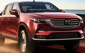 Đây có thể là xe bán tải Mazda BT-50 hoàn toàn mới