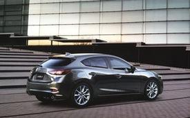 Lộ thêm hình ảnh mới của Mazda3 phiên bản nâng cấp 2017