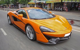 """""""Tóm gọn"""" McLaren 570S thứ 2 tại Việt Nam khoe dáng trên phố Sài thành"""
