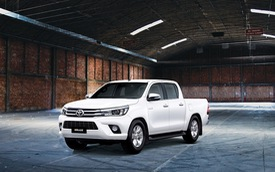 Ra mắt Toyota Hilux 2016, động cơ và hộp số mới, giá rẻ hơn