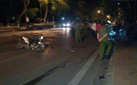Tai nạn kinh hoàng trên quốc lộ giữa khuya, 4 thanh niên thương vong
