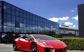 Lamborghini Huracan cầu sau chính hãng tăng giá 5 tỷ Đồng sau 1/7