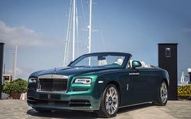 """Xe đã có ở Việt Nam Rolls-Royce Dawn được bổ sung phiên bản """"hương mùa hè"""""""