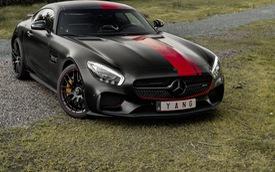 """Mercedes-AMG GT S mang phong cách """"kỵ sỹ rồng đen"""""""