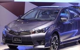 """Toyota Corolla Altis dần bị """"thất sủng"""" tại Việt Nam"""