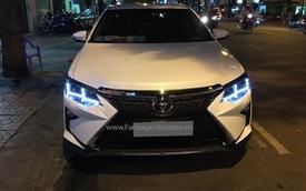 """Toyota Camry """"độ"""" dàn đầu của Lexus, đèn pha Audi, tổng chi phí 35 triệu Đồng"""