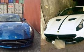 Ferrari California T của đại gia Trung Nguyên đổi màu sơn