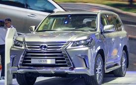 """Sau 11/7, giá """"chuyên cơ mặt đất"""" Lexus LX570 tăng 2,3 tỷ Đồng"""