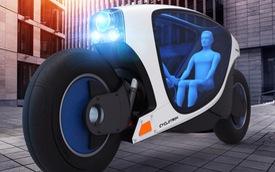 Sắp có xe máy tự lái, tự cân bằng