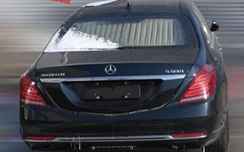 Bắt gặp Mercedes-Maybach S600 Pullman trong tình trạng kém long lanh trên đường phố