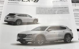 Crossover 7 chỗ Mazda CX-8 ngày càng lộ diện rõ hơn