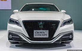 Sedan hạng sang cỡ lớn Toyota Crown Concept ra mắt tại quê nhà