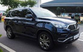 SsangYong Rexton thế hệ mới sắp ra mắt VIMS 2017, đấu Toyota Fortuner