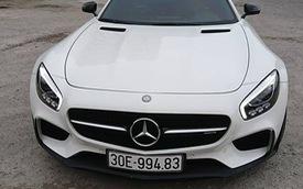 Mercedes-AMG GTS Edition 1 màu trắng đầu tiên về Việt Nam