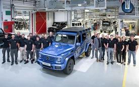 """""""Vua địa hình"""" Mercedes-Benz G-Class thứ 300.000 xuất xưởng"""