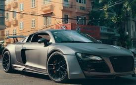 Audi R8 độ body kit Prior Design, công suất tăng 200 mã lực tái xuất trên phố Sài thành