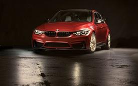 Làm quen với chiếc BMW M3 có một không hai với màu sơn đỏ nhám lạ mắt