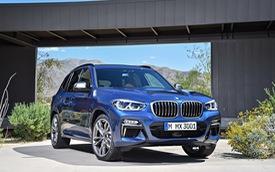 SUV hạng sang BMW X3 2018 chính thức được vén màn với công nghệ cao hơn