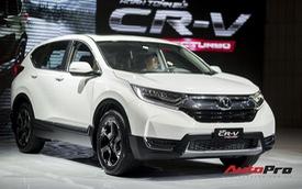 Nhập nguyên chiếc nhưng Honda CR-V 2018 thiếu hàng loạt trang bị