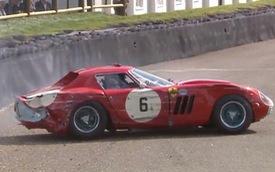 """Ferrari 250 GTO, siêu xe """"kỷ lục"""" với các mức giá bán hàng chục triệu USD gặp nạn"""