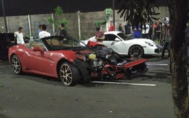 Cho bạn mượn siêu xe, đại gia Indonesia nhận về đống sắt vụn