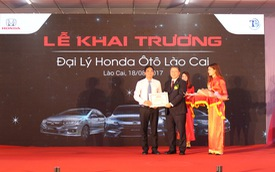 Lào Cai có đại lý Honda Ô tô chính hãng đầu tiên