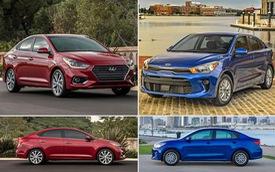 Hyundai Accent và Kia Rio: Mèo nào cắn mỉu nào?