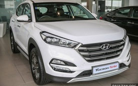 Cận cảnh Hyundai Tucson tăng áp mới ra mắt Đông Nam Á với giá 775 triệu Đồng