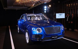 SUV siêu sang Bentley Bentayga chính thức ra mắt Thái Lan, giá từ 16,4 tỷ Đồng