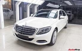 Mercedes-Maybach S400 4Matic đầu tiên tại Việt Nam bị rao bán giá hơn 6 tỷ đồng