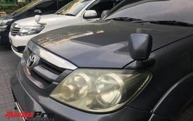 Lắp thêm gương phụ trước đầu xe cũ - mẹo thay camera trước giá rẻ