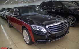 Mercedes-Maybach S500 phong cách Ả Rập rao bán giá hơn 9 tỷ đồng tại Hà Nội