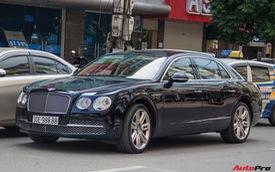 Sedan siêu sang Bentley Flying Spur W12 mang biển tứ quý 8 tại Hà Nội