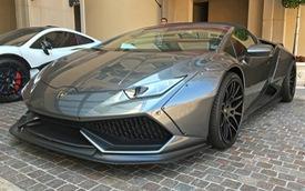 Vẻ đẹp của siêu xe mui trần Lamborghini Huracan LP610-4 Spyder độ Liberty Walk