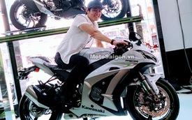 Nam ca sỹ Lưu Chí Vỹ mua mô tô Kawasaki Ninja ZX-10R 2017 trị giá hơn nửa tỷ Đồng