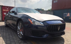 Maserati Quattroporte GranSport GTS 2017 cập bến Việt Nam, giá gần 12 tỷ Đồng